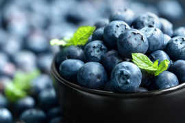 Blueberries are rich in Blueberries are rich in antioxidants and other phytochemicals..