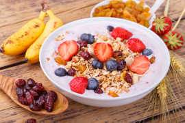 Gluten free cereals are an excellent source of fiber.