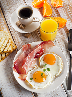 A healthy breakfast is essential for sustained energy.