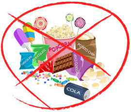 Get rid of the concept that snack foods are sugar foods.