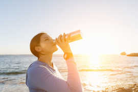 Water replenishes what your body is missing.