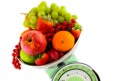 fruit weight scale