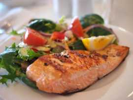 Fish provides healthy omega-3 fatty acids and B complex